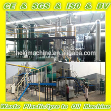 Highly safe device no pollution old tire pyrolysis recycling machine to oil