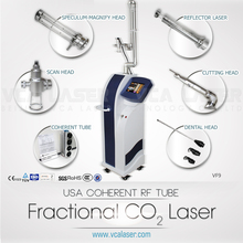 high quality fractional co2 laser forsun damage recovery