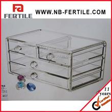 WFZ423304 Acrylic Jewelry & Cosmetic Storage Display Boxes