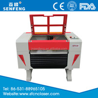 High speed laser etching machine for wood engraving SF6040E