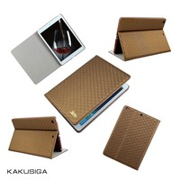 High Quality Shockproof PU Leather Stand Case for ipad air 2