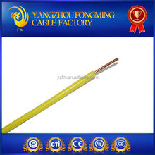 Single core 6mm lamp PVC wire