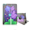 New Arrival 360 Rotating Design 12.9inch Folio Stand Flower Skin PU Leather Tablet Cover Case For iPad Pro with Elastic Belt