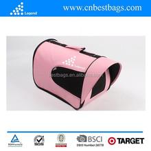 Folding pet carrier bags