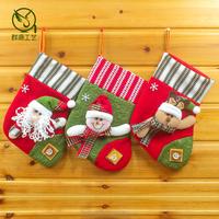 11inch wholesale mini christmas stockings