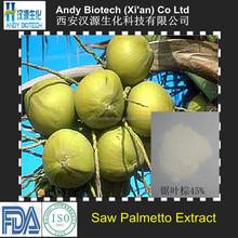45% Total Fatty Acids Natural Saw Palmetto P.E.