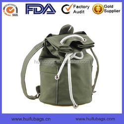 2015 new blank canvas backpack waterproof fashion sports canvas backpack