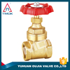 soft-seated reslient gate valve handle with long alum PN 40 high quality PPR new bonnet PTFE seated DN25 mini new bonnet NPT