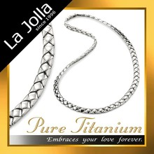 Charming titanium magnetic balance necklace
