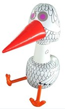 Promotional new style pvc creative inflatable bird toy for kids