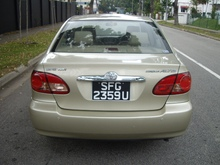 Toyota Corolla Altis for Export to PERU and CHILI