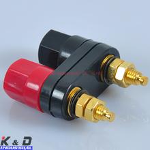 Combine Binding Post Amplifier Terminal Banana Plug Jack Binding post