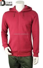 Mann baumwolle vlies benutzerdefinierte hoodie hochwertige hoodie china lieferant
