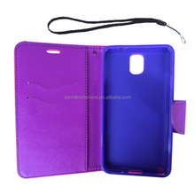 flip wallet stand case cover for samsung galaxy note 3