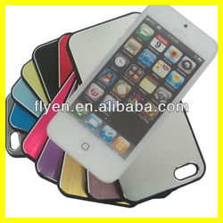 Metal Brushed Aluminum Case for Apple iPhone 5 4S 4 Two Part Structure Wholesale Good Price