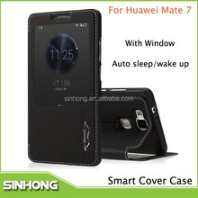 Mobile Phone Flip Leather Case For Huawei Ascend Mate 7 LTE MT7-l09