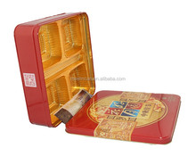 tin box mooncake packing boxes custom dimension tin box