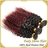 wholesale brazilian virgin hair 99j weave red color human hair extensions