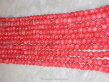 Natural Red Loose Coral Beads Wholesale