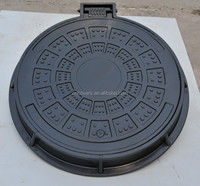 heavy duty road service locking manhole covers and frames 600mm