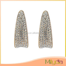 Latest design beautiful popular cheap hanging earring design