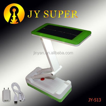 JY SUPER led plastic torch light rechargeable solar desk lamp JY513