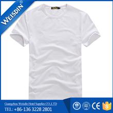 160 grams Guangzhou wholesale 94% cotton 6% spandex t shirt for men