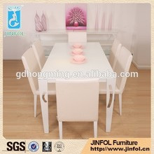 Modern design Coffee Table , cheap white glass dining table for sale
