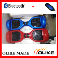 China guangdong 2 wheel electric scooter children hoverboard bluetooth with key hoverboard smart balance scooter 6.5inch
