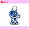 decorative zip parts slider rubber zipper puller for sportswear