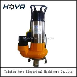 sewage centrifugal submersible pump V1100F