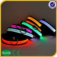 2015 wholesale led dog collar for pet product