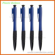 Hot-selling Rubber Grip Plastic Clip Ball Pen
