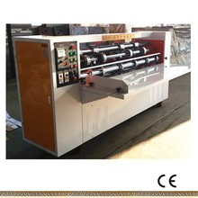 thin blade corrugated paper partitioning and creasing machine for cartons
