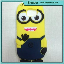 cute animal shaped for samsung galaxy s6 silicone cover