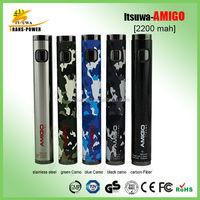 High quantity wholesale legal high adjustable Amigo battery