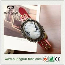 Shenzhen fashion focus quartz concept ladies' flower watch