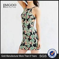 MGOO New Indian Custom Design Slip Mini Dress Sexy Bodycon Dress Fashion Printed Party Gaun Wholesale 2015 #25206093