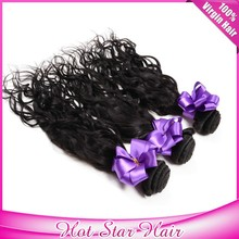 New Style Hot Selling Cheapest Price water Weaving 100% Unprocessed Remy Virgin Brazilian Hair Water Wave