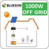 Bluesun home solar power system 1000w solar panel 220v