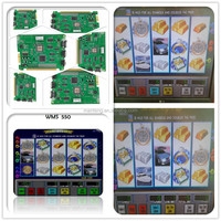 WMS GAME BOARD- WMS 550 Life Of Luxury 15 single pcb