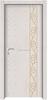 JJW-5009 Customized size decorative art wooden doors/melamine mould pressing wood door