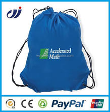 Waterproof new drawstring cotton sack bag