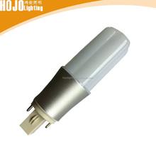 high lumen 360degree plc 2 pin led g24 lamp led bulb replace g24 26w g24 led plc 13w 2-pin