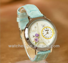 big case small display flower elegance fashion watches QZAC3489