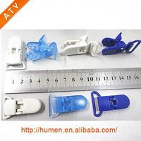 20 mm plastic crocodile clip for Id card set