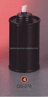 small metal tin oil lamp can screw top