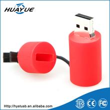 Most Popular 2016 USB 2.0 Fire Extinguisher Shaped Carton PVC USB