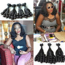 Top Quality Double Drawn Funmi Human Hair Best Selling Products In Nigeria Sexy Aunty Funmi Hair