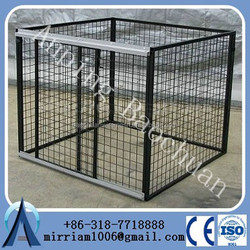 china wholesale Large outdoor chain link dog kennel / dog cages, welded wire dog kennel / pet enclosure.